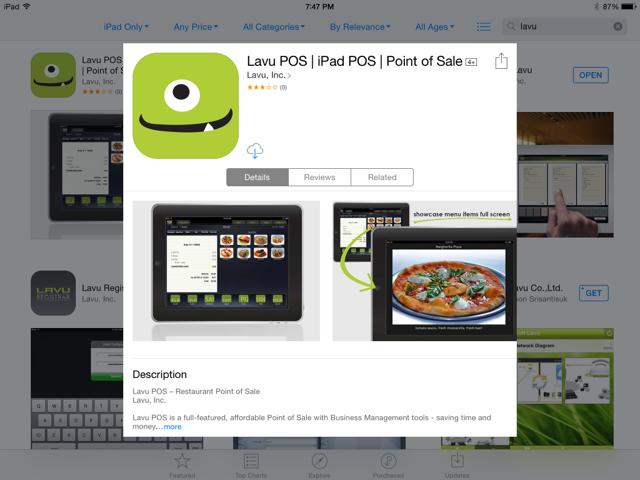 how to build a pos app