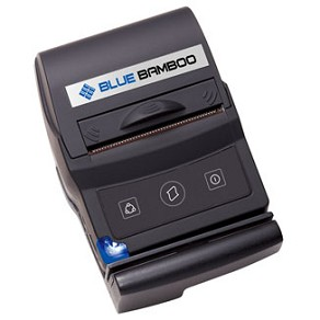 Blue Bamboo: Bluetooth Printer w/ Card Reader for iOS